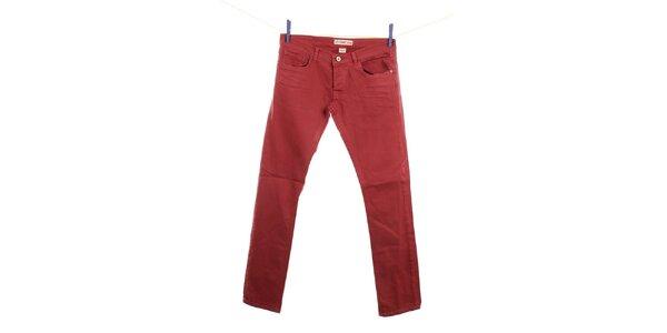 Pánske červené džínsy Fuga