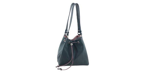 Dámska kožená kabelka v dvoch farbách Tina Panicucci