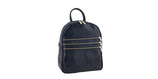 Dámský tmavo modrý batôžtek Tina Panicucci