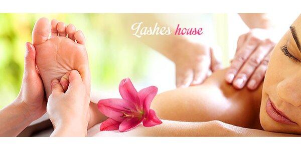 Reflexná masáž alebo masáž so zábalom
