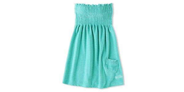 Dámske tyrkysové šaty Brunotti