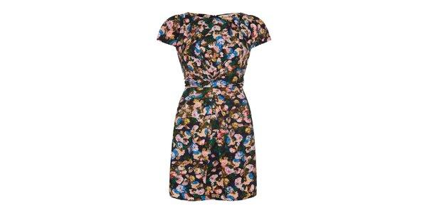 Dámske farebné šaty s mašľou na chrbte Yumi