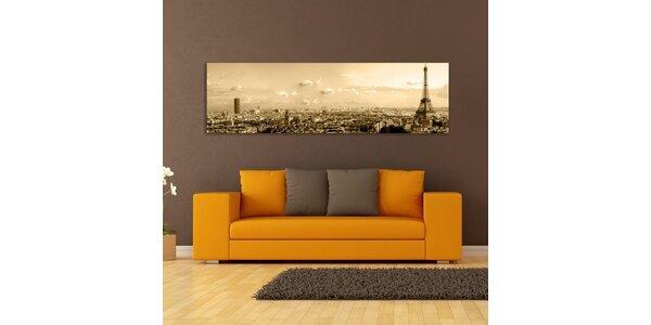 Paríž, sépiový efekt