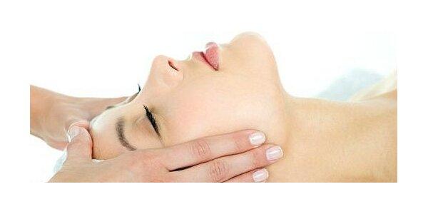 Vitamínová masáž tváre, krku a dekoltu