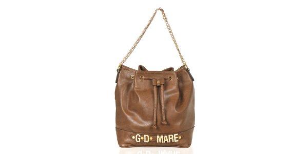 Dámska hnedá kabelka/batôžtek Giorgio