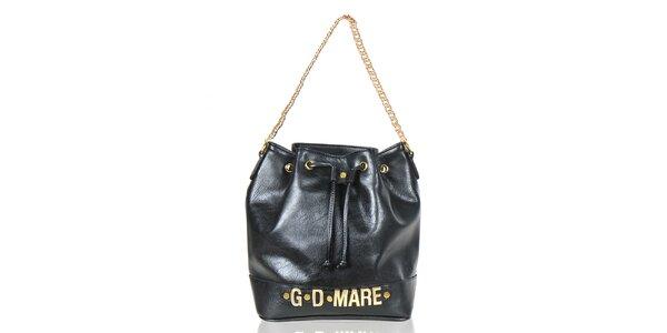 Dámska čierna kabelka/batôžtek Giorgio