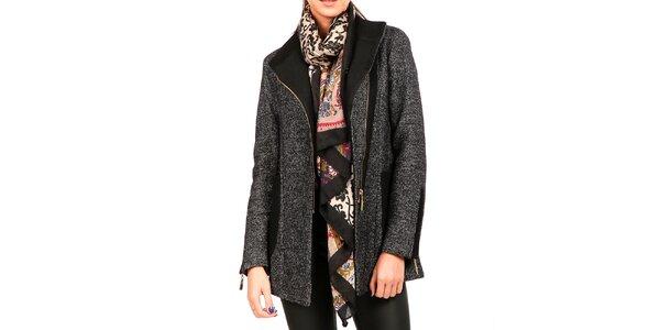 Dámsky melírovaný kabát Isabel Queen