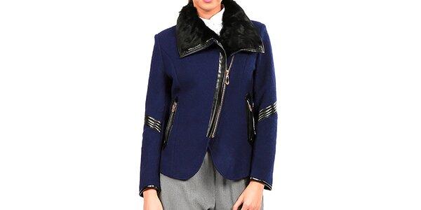 Dámsky modrý kabátik Isabel Queen