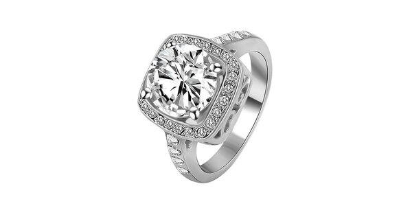 Dámsky pozlátený prsteň s kryštáľmi Victoria de Bastilla