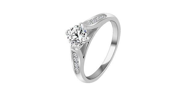 Dámsky prsteň s kryštáľmi a pozlátením Victoria de Bastilla