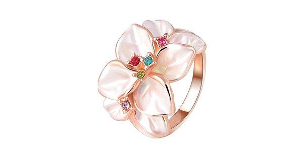 Dámsky kvetinový prstienok Victoria de Bastilla