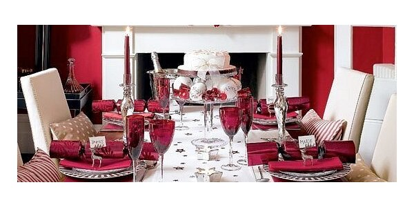 Dekorácia interiéru, príprava osláv alebo rýchla pomoc pri nečakanej návšteve