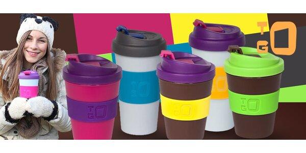 Trendy termo poháre s uzatvárateľným viečkom