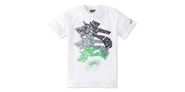 Pánske biele tričko Brunotti s potlačou