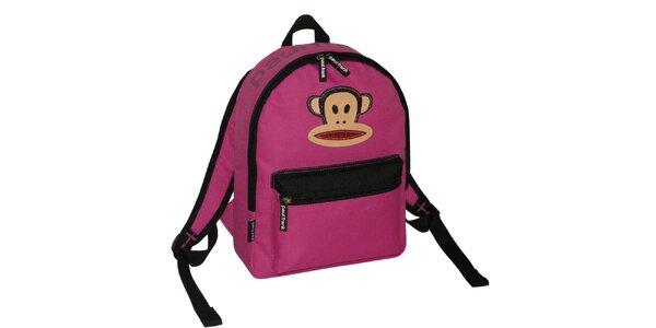 Ružový ruksak Paul Frank