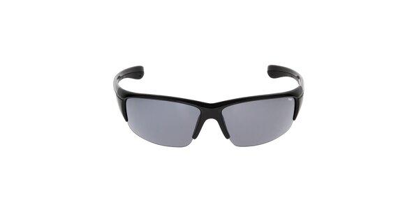 Čierne slnečné okuliare športového štýlu Fila