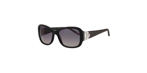 Dámske slnečné okuliare v čiernej farbe Nina Ricci