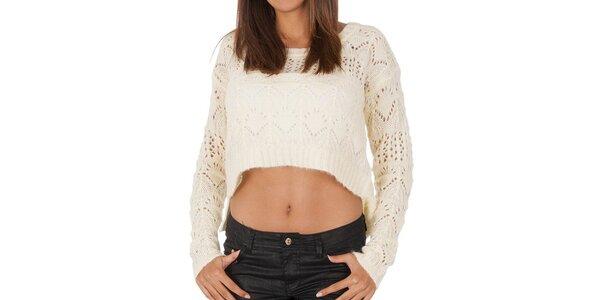 Dámsky krátky sveter so vzorom Vero Moda