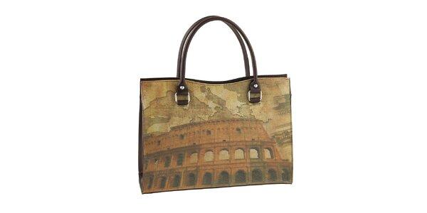 Dámska kabelka s potlačou Kolosea Valentina Italy