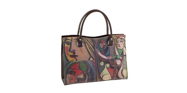 Dámska kabelka s obrazovou potlačou Valentina Italy