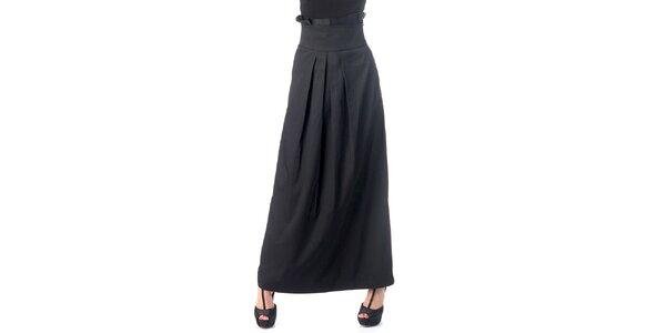 Dámska dlhá čierna sukňa Nelita