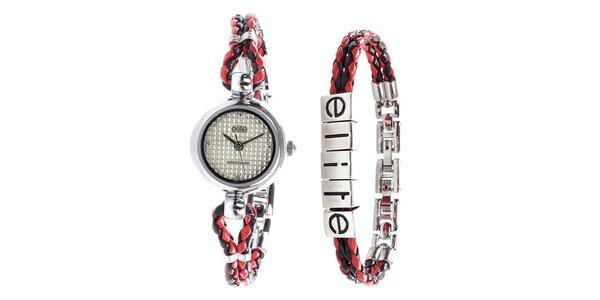 Dámske minimalistické hodinky a náramok Elite