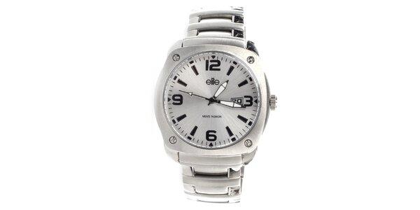 Pánske hodinky z nerezovej ocele Elite