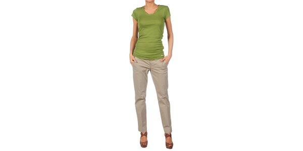 Dámske svetlo zelené tričko Nolita