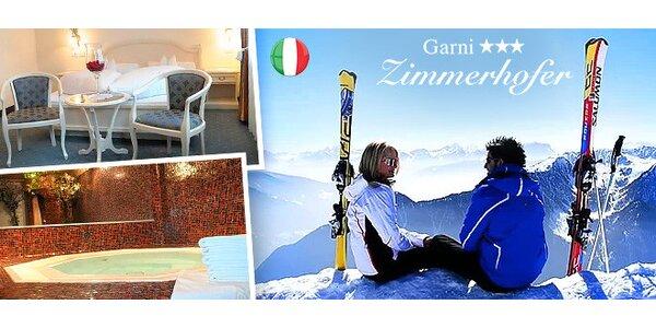 Lyžiarsky pobyt pre dvoch v talianskych Alpách