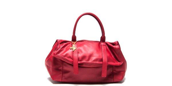 Dámska červená kabelka Luisa Vannini