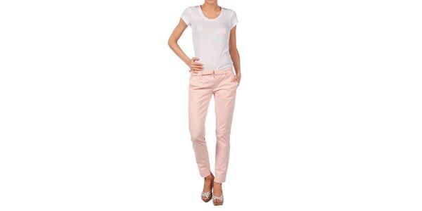 Dámske svetlo ružové nohavice Nolita