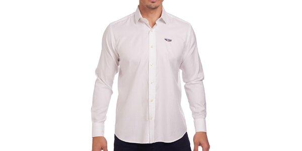 Pánska biela obleková košeľa Galvanni