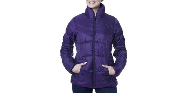 Dámska fialová bunda s límcom Puma