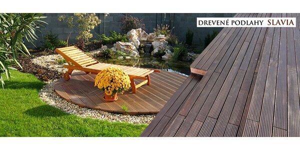 Terasové dosky a záhradné diely