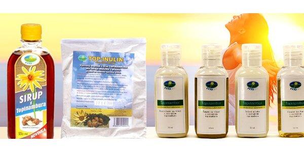 Zdravé produkty z topinambura