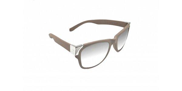 Šedo hnedé slnečné okuliare Jumper-s