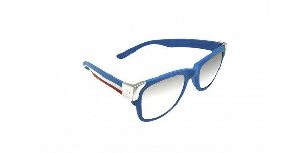 Gumové slnečné okuliare Jumper-s vo farbách francúzkej vlajky