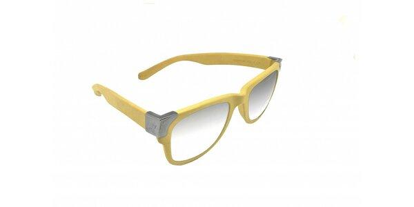 Vanilkovo žlté slnečné okuliare Jumper-s