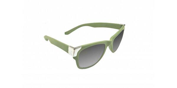 Olivovo zelené slnečné okuliare Jumper-s