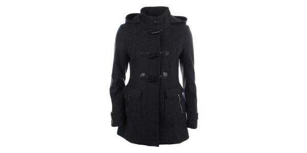 Dámsky tmavo šedý kabátik Halifax