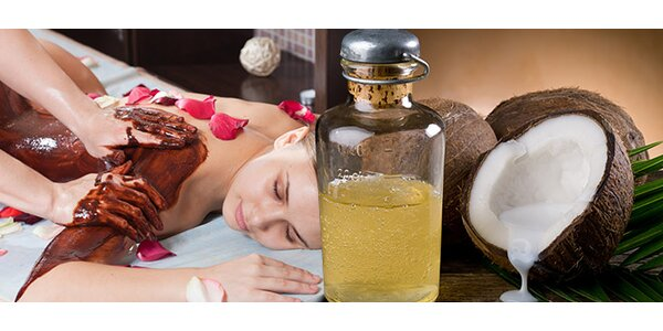 Čokoládová, kokosová a relaxačná masáž