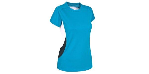 Dámske tyrkysové funkčné tričko s krátkym rukávom Trespass