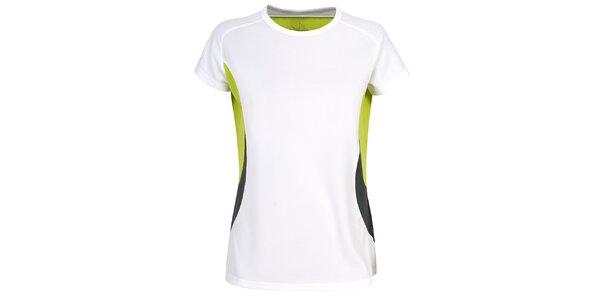Dámske biele funkčné tričko s krátkym rukávom Trespass