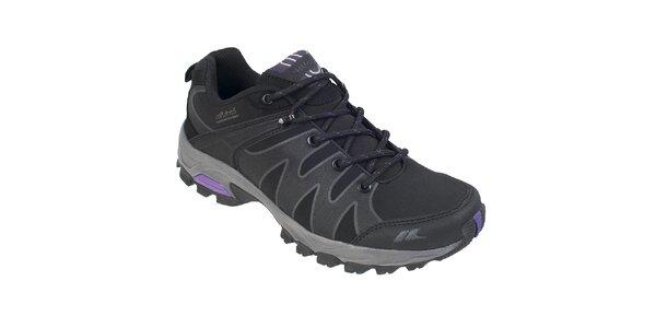 Dámske čierne softshellové topánky Trespass