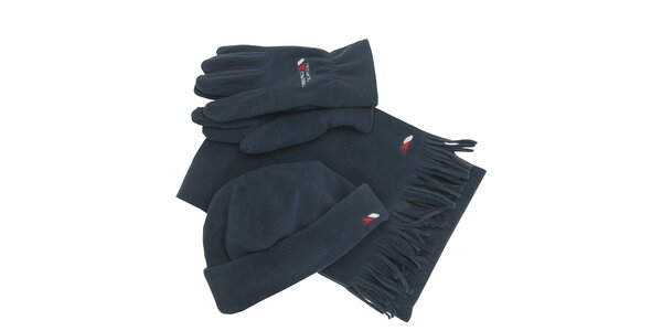 Set pánskych rukavíc, čiapky a šálu Trespass