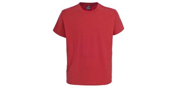 Pánske červené tričko s krátkym rukávom Trespass