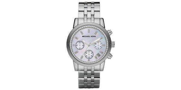 Dámske oceľové hodinky s okrúhlym ciferníkom Michael Kors