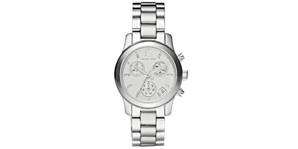 Dámske jednoduché oceľové hodinky s okrúhlym ciferníkom Michael Kors