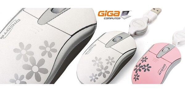 Optická USB myška Dicota Blossom Pro