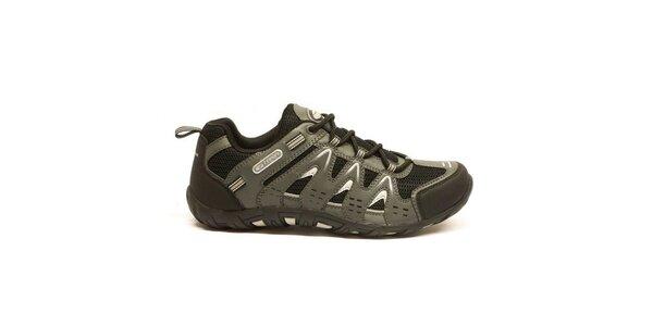 Pánske nízke trekové topánky Numero Uno - čierne